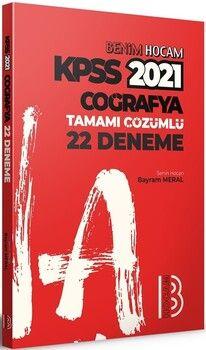 Benim Hocam 2021 KPSS Coğrafya Tamamı Çözümlü 22 Deneme