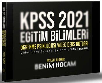 Benim Hocam 2021 KPSS Eğitim Bilimleri Öğrenme Psikolojisi Video Ders Notları