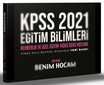 Benim Hocam 2021 KPSS Eğitim Bilimleri Rehberlik Video Ders Notları