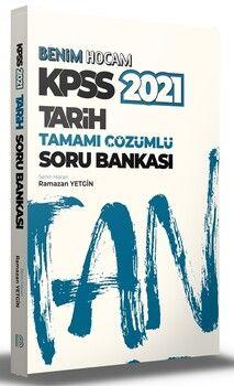 Benim Hocam 2021 KPSS Tarih Tamamı Çözümlü Soru Bankası