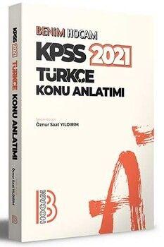 Benim Hocam 2021 KPSS Türkçe Konu Anlatımı