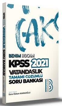 Benim Hocam 2021 KPSS Vatandaşlık Tamamı Çözümlü Soru Bankası