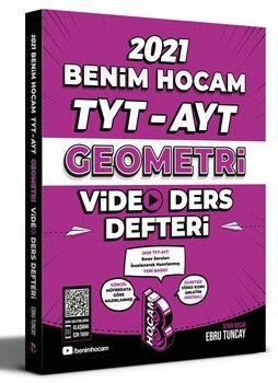 Benim Hocam 2021 TYT AYT Geometri Video Ders Defteri