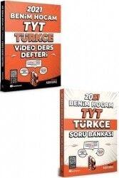 Benim Hocam 2021 TYT Türkçe Video Ders Defteri ve Soru Bankası Seti (Telefon Standı Hediyeli)