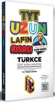 Benim Hocam 2021 TYT Uzun Lafın Kısası Türkçe Özet Konu Anlatımı
