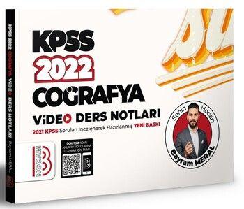 Benim Hocam 2022 KPSS Coğrafya Video Ders Notları