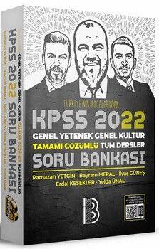 Benim Hocam 2022 KPSS Genel Yetenek Genel Kültür Tamamı Çözümlü Tüm Dersler Soru Bankası