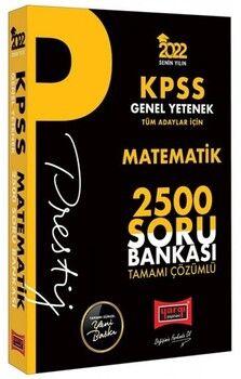 Benim Hocam 2022 KPSS Genel Yetenek Matematik Prestij Seri Tamamı Çözümlü 2500 Soru Bankası