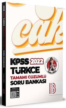 Benim Hocam 2022 KPSS Türkçe Tamamı Çözümlü Soru Bankası