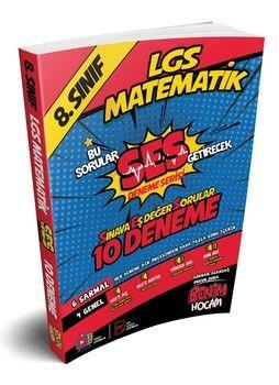 Benim Hocam 8. Sınıf LGS Matematik SES Getirecek 10 Deneme