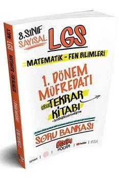 Benim Hocam 8. Sınıf LGS Sayısal 1.Dönem Tekrarı Soru Bankası