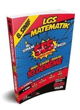 Benim Hocam 8. Sınıf LGS Matematik SES Serisi 10 Fasikül Deneme