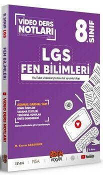 Benim Hocam 8. Sınıf LGS Fen Bilimleri Video Ders Notları
