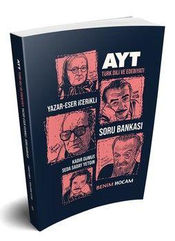 Benim Hocam AYT Türk Dili ve Edebiyatı Yazar Eser İçerikli Soru Bankası