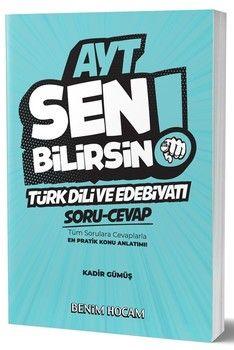 Benim Hocam AYT Türk Dili ve Edebiyatı Sen Bilirsin Soru Cevap Kitabı