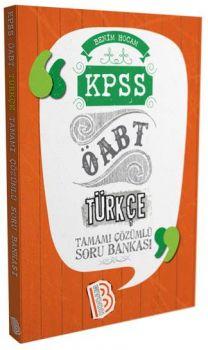 Benim Hocam ÖABT Türkçe Öğretmenliği Tamamı Çözümlü Soru Bankası