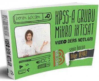 Benim Hocam KPSS A Grubu Mikro İktisat Video Ders Notları