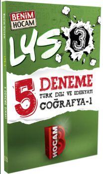 Benim Hocam LYS 3 Türk Dili ve Edebiyatı Coğrafya 1 Deneme Sınavı