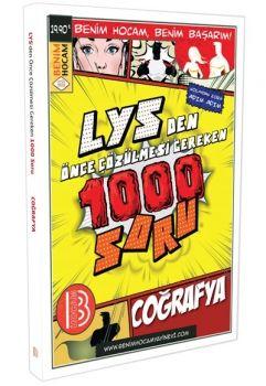 Benim Hocam LYS Coğrafya Lysden Önce Çözülmesi Gereken 1000 Soru