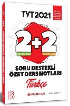 Benim Hocam TYT Türkçe 2+2 Soru Destekli Özet Ders Notları