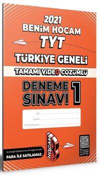Benim Hocam TYT Türkiye Geneli Deneme Sınavı 1