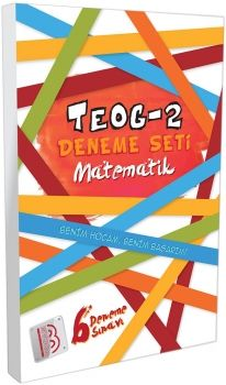 Benim Hocam Yayınlar 8. Sınıf TEOG 2 Matematik Deneme Seti 6 lı