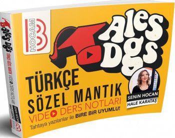 Benim Hocam Yayınları ALES DGS Türkçe Sözel Mantık Video Ders Notları