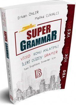 Benim Hocam Yayınları YDS YÖKDİL YKSDİL Super Grammar Video Konu Anlatımlı İleri Düzey Gramer