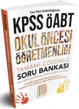 Benim Hocam Yayınları KPSS ÖABT Okul Öncesi Öğretmenliği Tamamı Çözümlü Soru Bankası