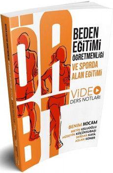 Benim Hocam Yayınları ÖABT Beden Eğitimi Öğretmenliği Ve Sporda Alan Eğitimi Video Ders Notları