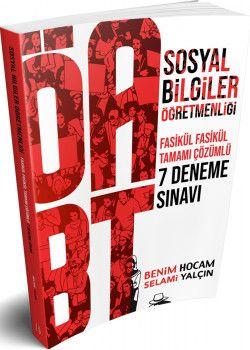Benim Hocam Yayınları ÖABT Sosyal Bilgiler Öğretmenliği 7 Deneme Sınavı