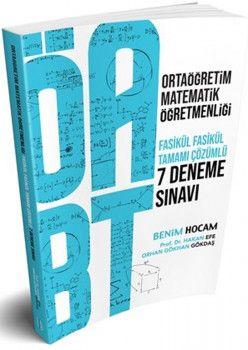 Benim Hocam Yayınları ÖABT Ortaöğretim Matematik Öğretmenliği Tamamı Çözümlü 7 Deneme Sınavı
