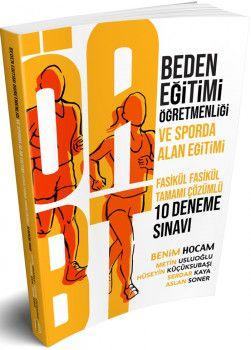 Benim Hocam Yayınları ÖABT Beden Eğitimi Öğretmenliği Ve Sporda Alan Eğitimi Tamamı Çözümlü 10 Deneme Sınavı