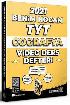 Benim Hocam Yayınları TYT Coğrafya Video Ders Notları