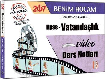 Benim Hocam Yayınları KPSS 2017 Vatandaşlık Video Ders Notları