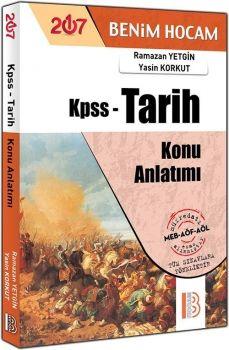 Benim Hocam Yayınları KPSS 2017 Tarih Konu Anlatımı