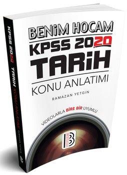 Benim Hocam Yayınları 2020 KPSS Tarih Konu Anlatımı