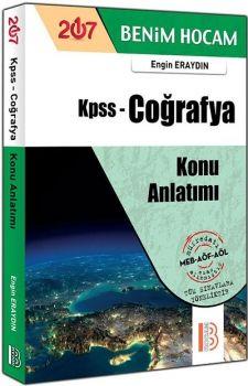 Benim Hocam Yayınları KPSS 2017 Coğrafya Konu Anlatımlı Engin ERAYDIN