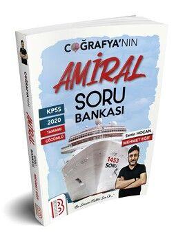 Benim Hocam Yayınları KPSS Amiral Coğrafya Tamamı Çözümlü Soru Bankası