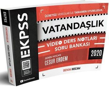 Benim Hocam Yayınları 2020 EKPSS Vatandaşlık Video Ders Notları Soru Bankası