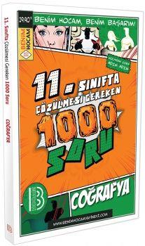 Benim Hocam Yayınları 11. Sınıf Coğrafya Çözülmesi Gereken 1000 Soru