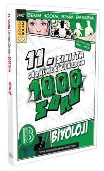 Benim Hocam Yayınları 11. Sınıf Biyoloji Çözülmesi Gereken 1000 Soru