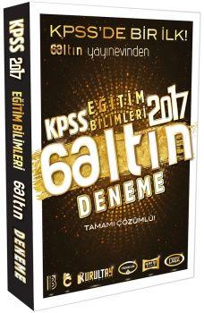 Benim Hocam Yayınları 2017 KPSS Eğitim Bilimleri 6 Altın Deneme Tamamı Çözümlü