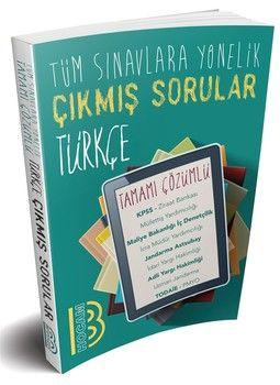 Benim Hocam Yayınları Tüm Sınavlara Yönelik Türkçe Konularına Göre Çıkmış Tamamı Çözümlü Sorular