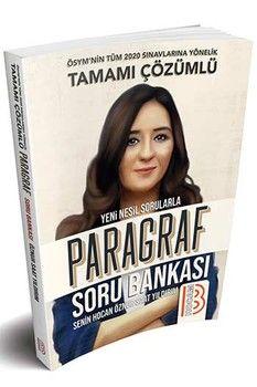 Benim Hocam Yayınları 2020 Tüm Sınavlar İçin Paragraf Soru Bankası