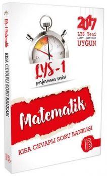 Benim Hocam Yayınları LYS 1 Matematik Performans Sersisi Kısa Cevaplı Soru Bankası