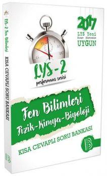 Benim Hocam Yayınları LYS 2 Fen Bilimleri Performans Sersisi Kısa Cevaplı Soru Bankası