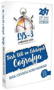 Benim Hocam Yayınları LYS 3 Türk Dili Ve Edebiyatı Coğrafya Performans Sersisi Kısa Cevaplı Soru Bankası