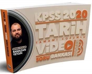 Benim Hocam Yayınları 2020 KPSS Tarih Tamamı Çözümlü Video Soru Bankası