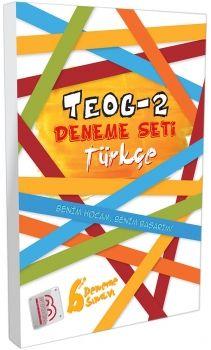 Benim Hocam Yayınları 8. Sınıf TEOG 2 Türkçe Deneme Seti 6 lı